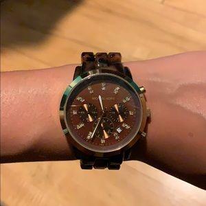 Michael Kors Tortoise Women's chronograph